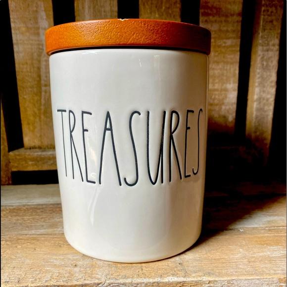 Rae dunn treasures cellar